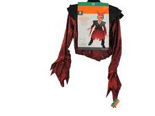Kids Demonic Devil Halloween Costume Medium (6-8) with Light Up Mask!