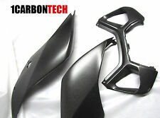 DUCATI PANIGALE 899 1199 CARBON FIBER TAIL LIGHT HOUSINGS AND AIR INLET SCOOP