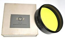 Hasselblad 105mm O21 Gelb-Hell 100 Yellow Filter for Dallmeyer 508mm Dallon...LN