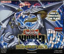 YUGIOH WORLD SUPERSTARS 1ST EDITION BOOSTER 12 BOX CASE BLOWOUT CARDS