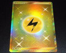 Lightning Energy 168/145 SM Guardians Rising Set SECRET Pokemon Card NEAR MINT