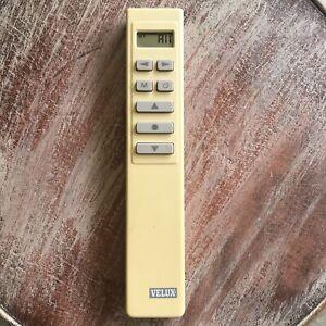 Velux Skylight Remote Control WLR 160 50 01 Made In Denmark WORKS