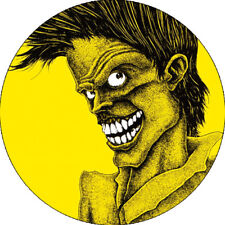 CHAPA/BADGE THE CRAMPS Bad Music For Bad People . pin button poison ivy lux
