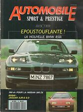 AUTOMOBILE SPORT & PRESTIGE 15 BMW 850i NISSAN 300 ZX BMW M3 JAGUAR XJR-S 6.0