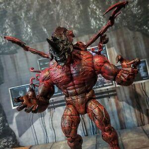 NECA ALIENS VS Predator CARNAGE XENOMORPH custom marvel legends lot mezco one:12