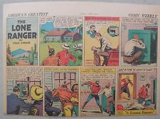 Lone Ranger Sunday Page by Fran Striker and Charles Flanders from 6/1/1941