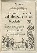 W5721 Eternate i vs. ricordi con Kodak - Pubblicità 1926 - Advertising