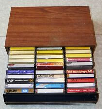 New ListingLot of 30 Vintage Cassette Tapes Yamaha Fuji Ampex Captiol Realistic Sony Memore