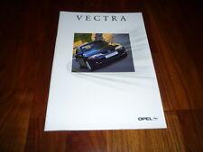 Opel Vectra Prospekt 03/2000