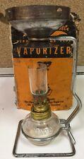 Vapo-Cresolene Kerosene Lamp Type Metal  Vaporizer Pat 1895 w Box  Unused