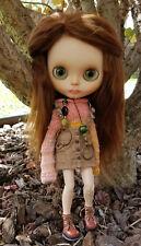 Stunning Ooak Blythe Doll Suri Alpaca Reroot with Teeth ~ 4 Custom Eye Sets