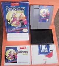 Disney's Darkwing Duck Nintendo NES Game Complete w/ Original Box Manual Insert
