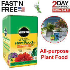 Miracle Gro All-purpose Plant Food Houseplant Grow Flowers Fertilizer Garden