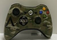 Xbox 360 Wireless Controller Camo Camouflage AN-XBOX360 Microsoft Ships Fast!