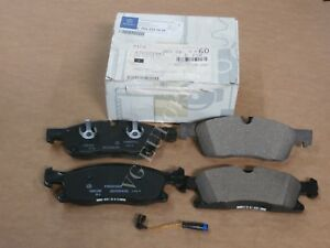Mercedes ML GLE Genuine Front Brake Pad Set,Pads w/Sensor ML350 ML400 GLE350 NEW