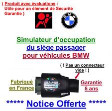 Simulateur de tapis sensitif de BMW X3 E83 X5 E53 Z3 E36 Z4 E85, problème Airbag