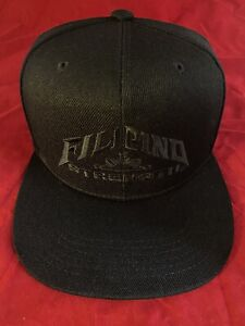 Filipino Flag Hat Philippines Pinoy Pinay Supreme Snapback Black On Black