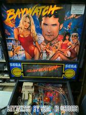 Used Sega Baywatch Pinball