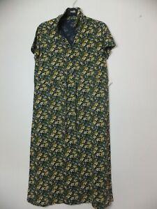 New Women's Unbranded Seasalt Blue Floral Samantha Sand Dress UK 10 RRP £59.95