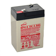 Enersys Genesis 6V 4AH Battery Replacement for Yuasa NP4.5-6