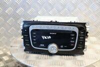 FORD GALAXY MK3 S-MAX MONDEO MK4 RADIO CD DAB MP3 HEAD UNIT 2007-2010 YK10