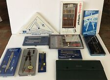 LG Lot Staedtler Compass Drawing Tools Instruments Rotring Higgins Mars Superbow