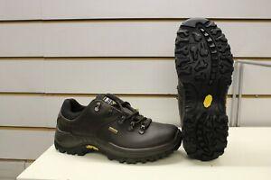 Grisport Dartmoor Brown Leather Waterproof Walking Trail Shoes UK 6 EU 39