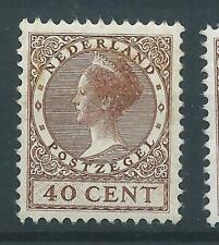 1924TG Nederland Veth zonder watermerk NR.160 postfris mooi zegel..