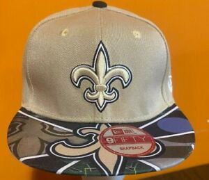 New Era New Orleans Saints 9FIFTY Snapback Hat One Size Fits All