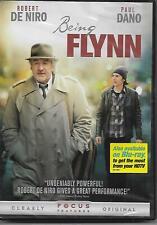 BEING FLYNN Robert De Niro DVD Paul Dano NEW Sealed