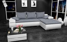 Couch Couchgarnitur HERCULES Sofagarnitur Sofa Wohnlandschaft Schlaffunktion