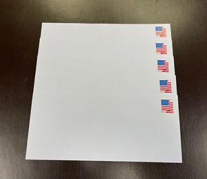 "500 Forever Stamped Envelopes (White Security Tint ""Peel N Seal"" #10 Envelopes)"