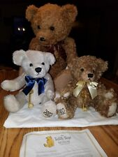 The Teddy Bear Museum Stratford-Upon-Avon 100th Anniversary Set of 3 #264/1008