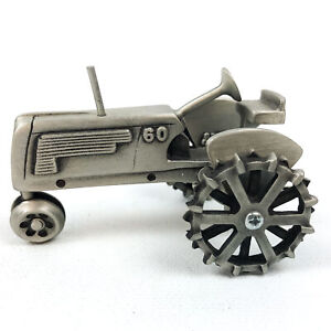Oliver 60 Pewter Tractor Collectible Farm Toy 1/43 Scale Limited Ed. by SpecCast