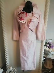 CONDICI STUNNING SILK MOTHER OF THE BRIDE OUTFIT SIZE 14