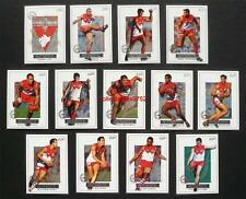 Mint 2001 AFL Select Authentic Trading Cards Sydney Set 13 Cards