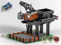 Bekohlungsanlage - Bahn MOC - PDF Bauanleitung - kompatibel mit LEGO Steine
