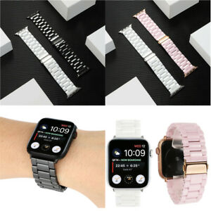 Ceramic Strap for Apple Watch Series 5 4 3 2 Band For iWatch 38mm-44MM Bracelet