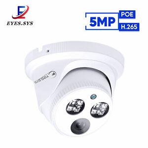 Eyes.sys POE H.265 48V HD 5.0MP IP Dome Camera CCTV NVR Xmeye APP RTSP UK