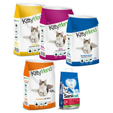 More details for sanicat/kitty friend clumping cat litter clay odour control highly absorbent