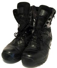 "FORCE RECON THOROGOOD Black Leather Vibram Sole Combat Boots 9"" Mens Sz 10.5"