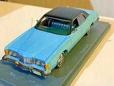 1/43 Neo Scale Models 44236: Ford LTD Blue/Dark 1973