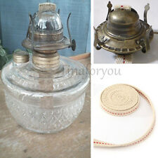 154cm White Flat Cotton Oil Lamp Wick Roll For Oil Burn Lamps and Lanterns