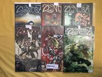 Comnplete set lot of Zendra (2001) #1 2 3 4 5 6 NM Near Mint