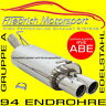 FRIEDRICH MOTORSPORT V2A SPORTAUSPUFF Chevrolet Trax Frontantrieb+Allrad 1.7 TD