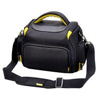 Large Waterproof Case Camera Shoulder Bag Backpack For Nikon SLR DSLR Camera