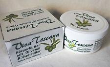 (29,83€ /L) VIVA TOSCANA Körperbutter mit Olivenöl & Shea Butter 300 ml