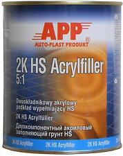 2K-Acrylfüller, WEISS, MV5:1, Grundierung, 1 Liter Dose, #020407
