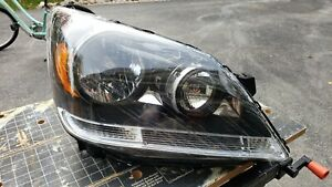 05-07 Odyssey Amber Chrome Clear Headlights Passenger/Right Replacement