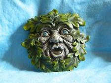 Tree Ent Face Wall Plaque Leaf Peeper/Myth and Fantasy/Garden /Sculpture/80609